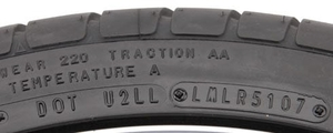 Tire Tech Information - DOT Tire Identification Number (TIN)