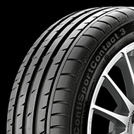Continental ContiSportContact 3 SSR 245/50-18 Tire