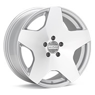 ACHTUNG DM11 Silver Machined w/Clearcoat Wheels