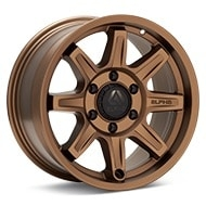 ALPHAequipt Command Bronze Painted Wheels