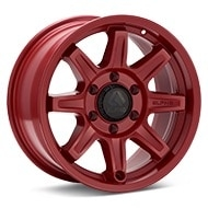 ALPHAequipt Command Red Painted Wheels