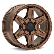 ALPHAequipt Delta Bronze Painted Wheels