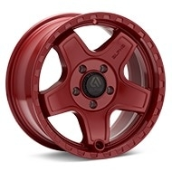 ALPHAequipt Echo Red Painted Wheels