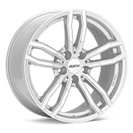 ALUTEC Drive Bright Silver Paint Wheels