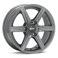 ALUTEC Grip3 Graphite Silver Wheels