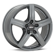 ALUTEC Grip Graphite Silver Wheels
