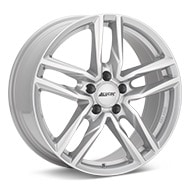 ALUTEC Ikenu Bright Silver Paint Wheels