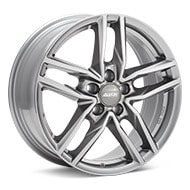 ALUTEC Ikenu Metal Grey Wheels