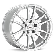 ALUTEC Monstr Bright Silver Paint Wheels