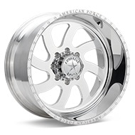 American Force Blade SS Left Polished Wheels