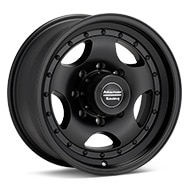American Racing AR23 Black Painted Wheels