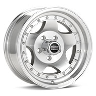 American Racing AR23 Silver Machined w/Clearcoat Wheels