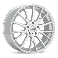 American Racing AR904 Silver Machined w/Clearcoat Wheels
