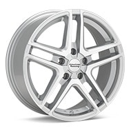 American Racing AR907 Silver Machined w/Clearcoat Wheels