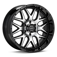 American Racing AR910 Machined w/Black Accent Wheels