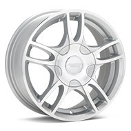 American Racing AR919 Silver Machined w/Clearcoat Wheels