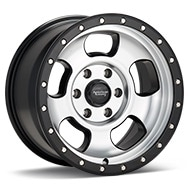 American Racing AR969 Ansen Off Road Machined w/Black Accent Wheels