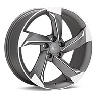 ANDROS R10 Machined w/Matte Graphite Acct Wheels