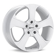 ANDROS Spec J Matte Silver Painted Wheels