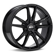 ANDROS Spec K Gloss Black Painted Wheels