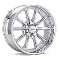American Racing Authentic Hot Rod VN507 Rodder Chrome Plated Wheels