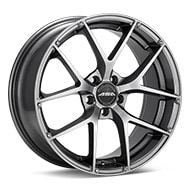 ASA GT14 Gloss Gunmetal Silver Painted Wheels