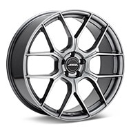 ASA GT15 Dark Silver Paint Wheels