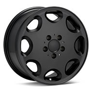 ASA Type 8 Black Painted Wheels