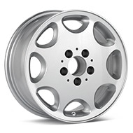 ASA Type 8 Silver Painted Wheels