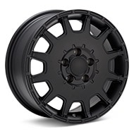 ASA Type 9 Black Painted Wheels