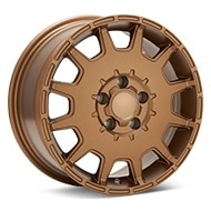 ASA Type 9 Bronze Painted Wheels