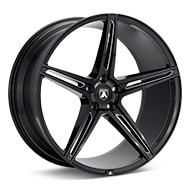 ASANTI Black Label ABL-22 Black w/Milled Accent Wheels