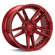ASANTI Black Label ABL-33 Candy Red Painted Wheels