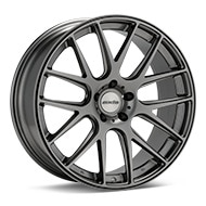 Axis Allies Matte Graphite Silver Wheels