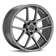 Axis Model Five Gunmetal Painted Wheels
