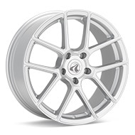 Axis Model Five Matte Silver Painted Wheels