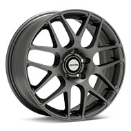 Axis Sport XM Matte Graphite Silver Wheels