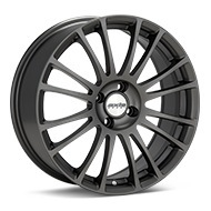 Axis Sport XV Matte Graphite Silver Wheels