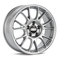 BBS CO Bright Silver Paint Wheels