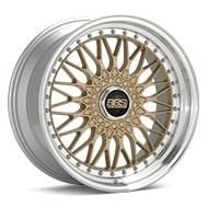 BBS Super RS Gold w/Machined Lip Wheels