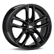 BBS SX Crystal Black Wheels