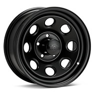 Black Rock 997 Type 8 Steel 15x7 Black Painted Wheels