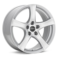 Borbet Type F Crystal Silver Paint Wheels