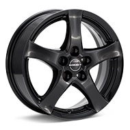Borbet Type F Gloss Black Painted Wheels