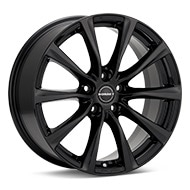 Borbet Type RE Gloss Black Painted Wheels