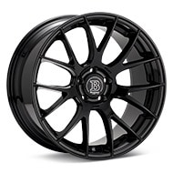 Bremmer Kraft BR09 Gloss Black Painted Wheels