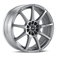 Enkei Performance EDR9 Bright Silver Paint Wheels