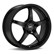 Enkei Performance VR5 Black Painted Wheels