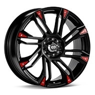 Enkei Performance GW8 Black Painted Wheels