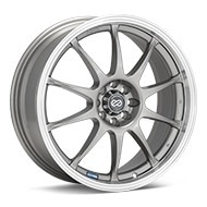 Enkei Performance J10 Silver w/Machined Lip Wheels